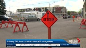 2 downtown Calgary roads not becoming one-ways until June