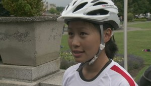 Kidney donor rides across Canada
