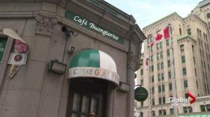 Coderre responds to Café Buongiorno