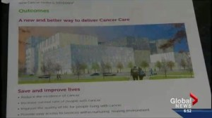 What does NDP win mean for Calgary Cancer Centre?
