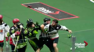 5 players suspended after line brawl between Saskatchewan Rush, Calgary Roughnecks