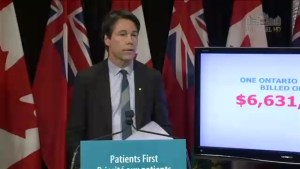 Province and doctors fight for public support in fee dispute