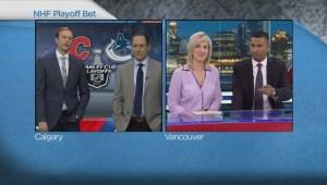 Talking trash; Global anchors make west coast playoff wager
