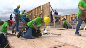 Habitat for Humanity Blitz Build