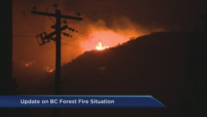 Wildfires continue to rage across B.C.