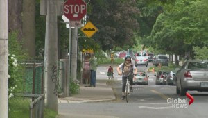 Cycling advocates calling for legal ability to run, roll through stop signs in residential areas