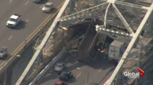 Toronto-bound lanes on Skyway to be closed till at least Monday afternoon