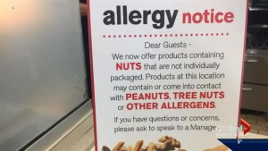 McDonald's decision to include unconcealed nuts has left Saskatoon family with questions