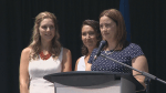 Wives of Moncton RCMP heroes express their gratitude for monument in their honour