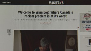 Winnipeggers respond to article's claim of most racist city