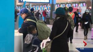 Edmontonians headed to Brussels change plans