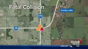1 person killed, 3 injured in northern Alberta collision