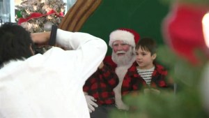 A unique event gives children with autism the chance to meet Santa Claus.