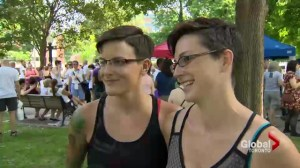 Gay couples discriminated against in home country join Toronto Pride Week