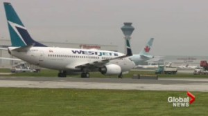 Westjet starts charging for checked bags