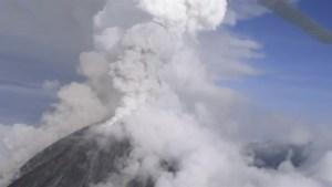 Mexico's Colima volcano spews smoke and ash