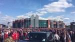 Bomb disposal unit detonate 'suspect package' at Manchester United stadium