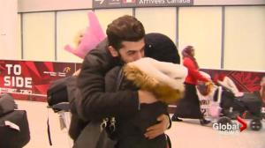Refugee family reunited after 9 years in limbo