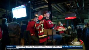 Calgary Flames fans hope team can avoid elimination in Wednesday game