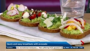 Avocados – It's what's for breakfast!