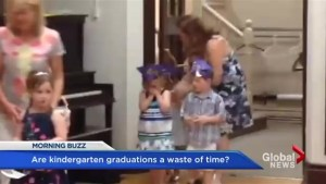 Are kindergarten graduations a waste of time?