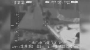 Caught on Camera: Man makes daring leap from sailboat to ship
