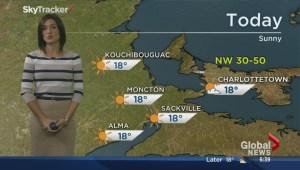 Local weather forecast: Fri, Sept. 12