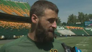 Eskimos QB Mike Reilly on 'physicality' ramping up at training camp