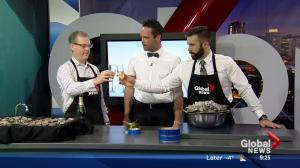 Effing Seafoods in the Global Kitchen: Champagne & caviar (Part 3/3)
