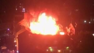 Massive fire breaks out in London's Camden Market