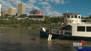 Heavy rainfall in Alberta leading to heightened concerns along the North Saskatchewan River