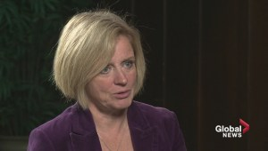 Raw: Interview with Premier Rachel Notley