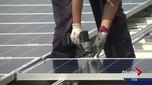 Leduc soon to be home to Canada's largest rooftop solar array