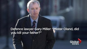 Dennis Oland, accused of murdering father Richard Oland, takes the stand