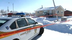 Aftermath of fatal shooting of Quebec cop