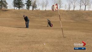 Calgary golfers brave chilly weather at golf courses across the city