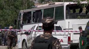 Suicide bomber attacks government bus in Afghanistan