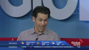 Actor Rick Miller previews BOOM on Global News Morning