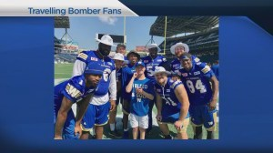 Father and son from California become Winnipeg Blue Bombers fans