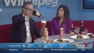 Delicious beer and food pairing on the Morning News