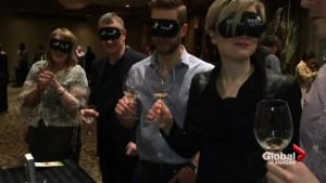 First annual CNIB 'Wine'ing' in the Dark' event