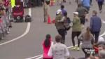 Half-marathon heroes help woman cross finish line