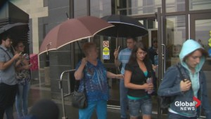 Justin Bourque's family leave with no comment