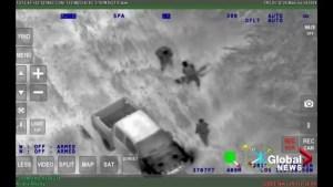 Douglas Garland arrest video
