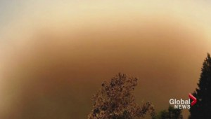 Wildfire haze blankets the South Coast