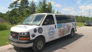 Teens travel across Canada on Peace Bus to volunteer