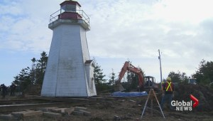 A massive move to save Gabarus lighthouse from crumbling coastline