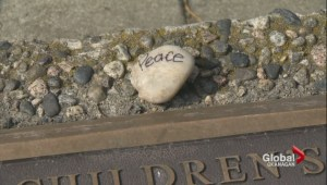 Peace walk and peace rocks