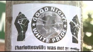 Anti-hate poster shows up in downtown Kingston promoting violence