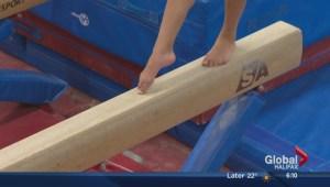 Rising star on national gymnastics team